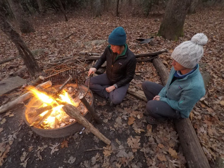 how to build a campfire from rangers