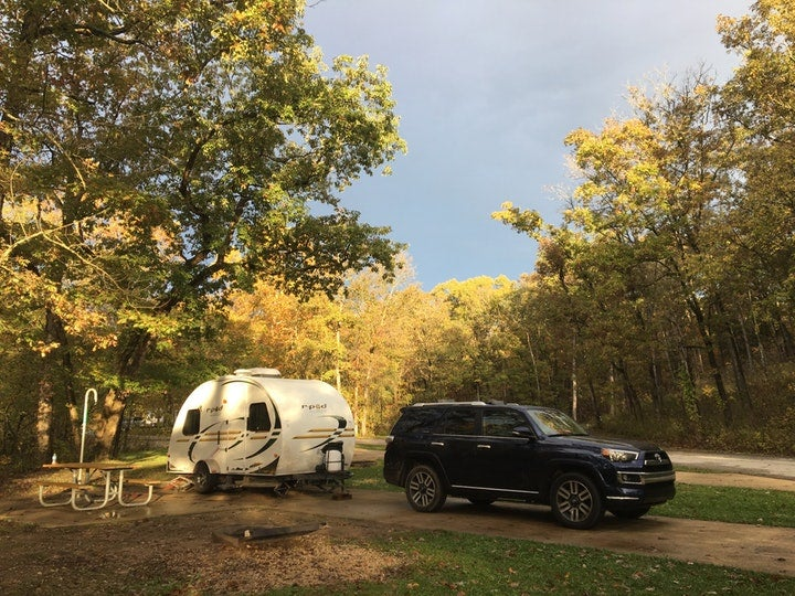 Plan to park it in the Cave State when deciding on Route 66 camping solutions.