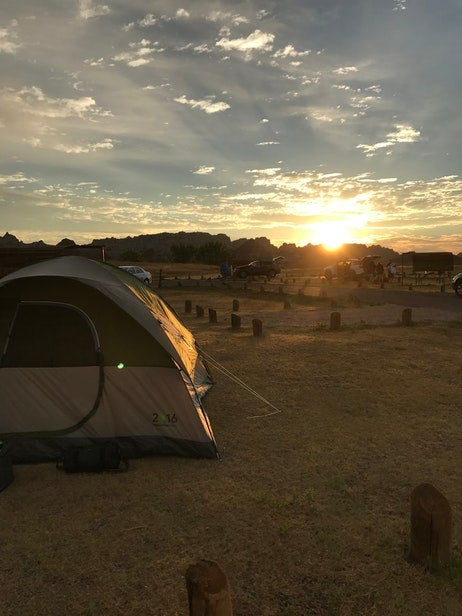Enjoy sleeping in a tent or a camper on your 2018 road trips.