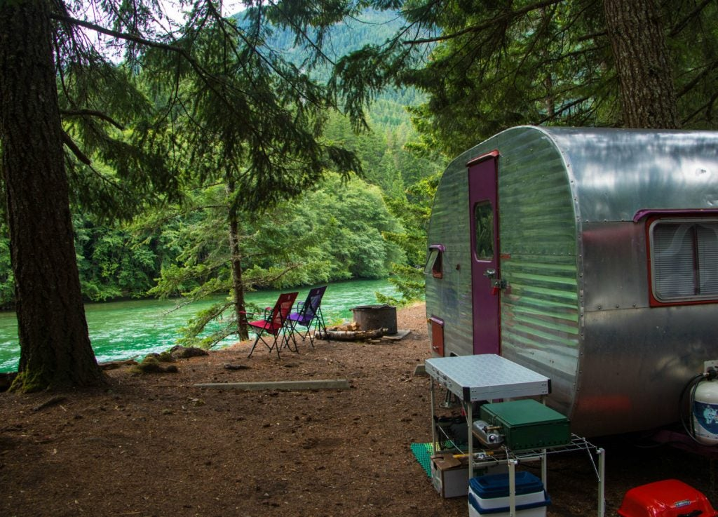 travel expenses at the campground
