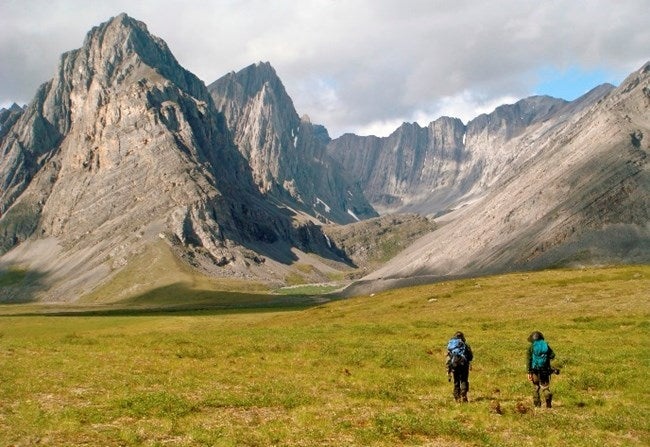 backcountry camping gates of the arctic