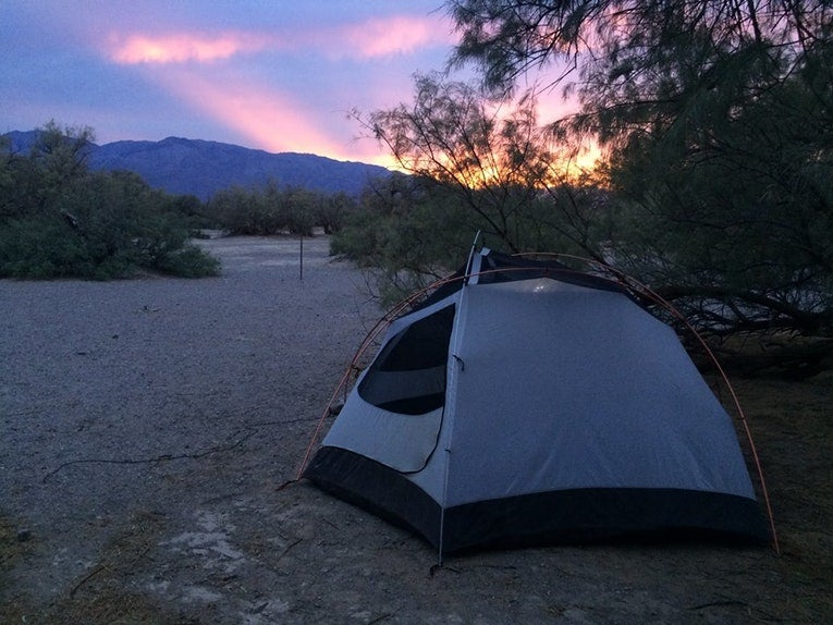 death valley national park camping