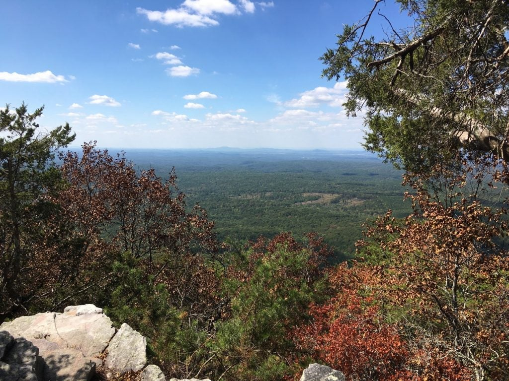Cheaha State Park views