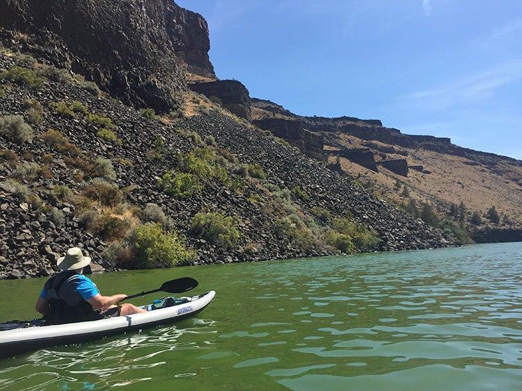 cove palisades state park kayak oregon