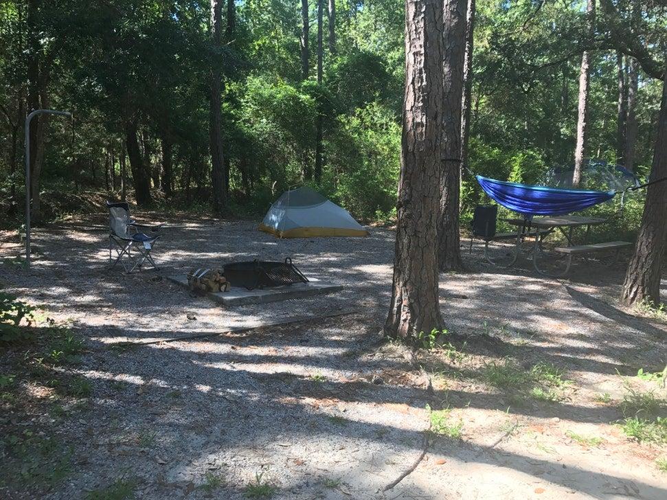 carolina beach state park camping