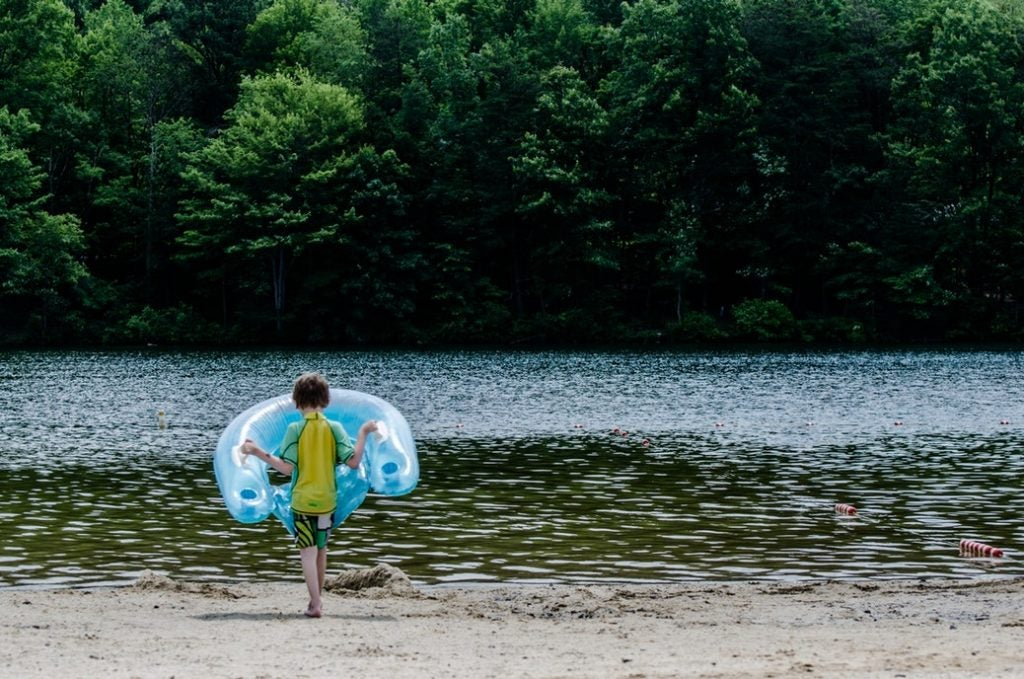 family friendly camping at Rocky Gap State Park
