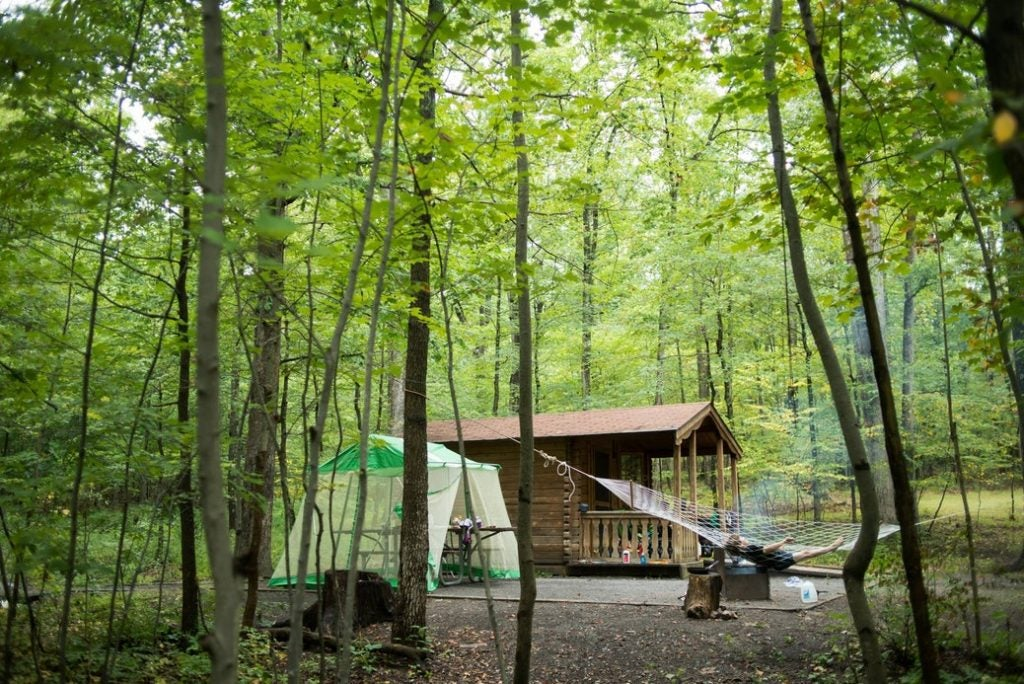cabins at Rocky Gap State Park