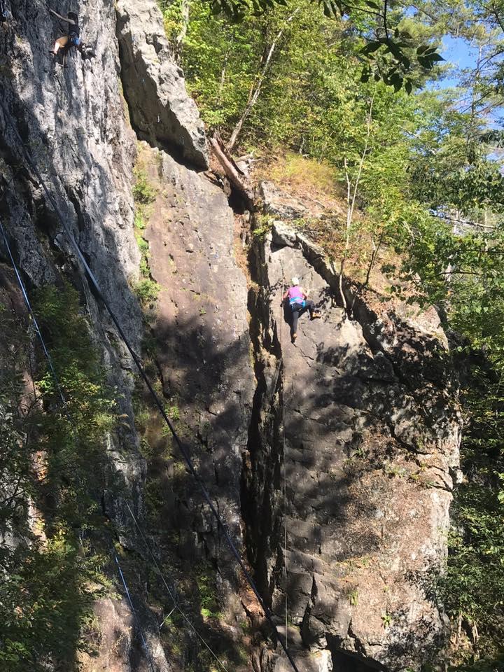 climbing at outessa