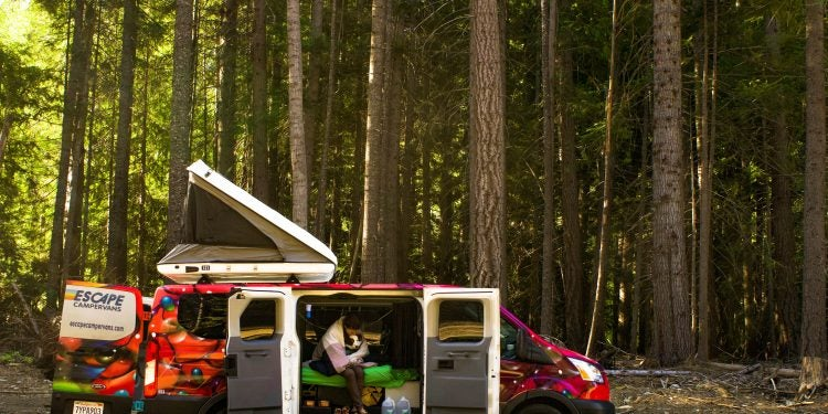 escape campervans review