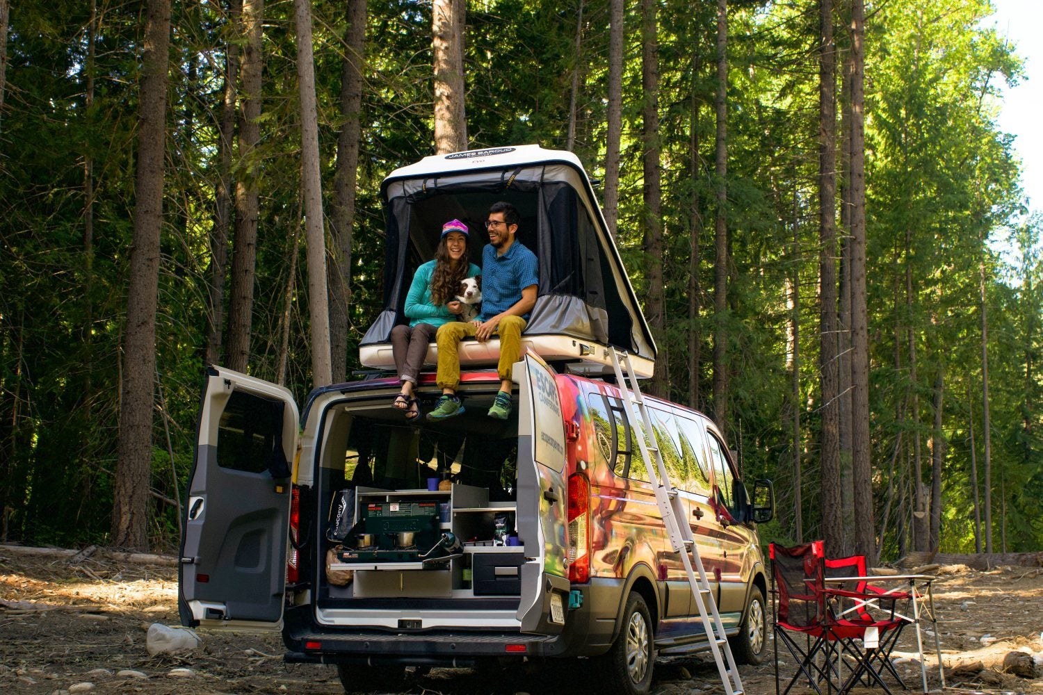 vanlife ready thanks to escape campervans