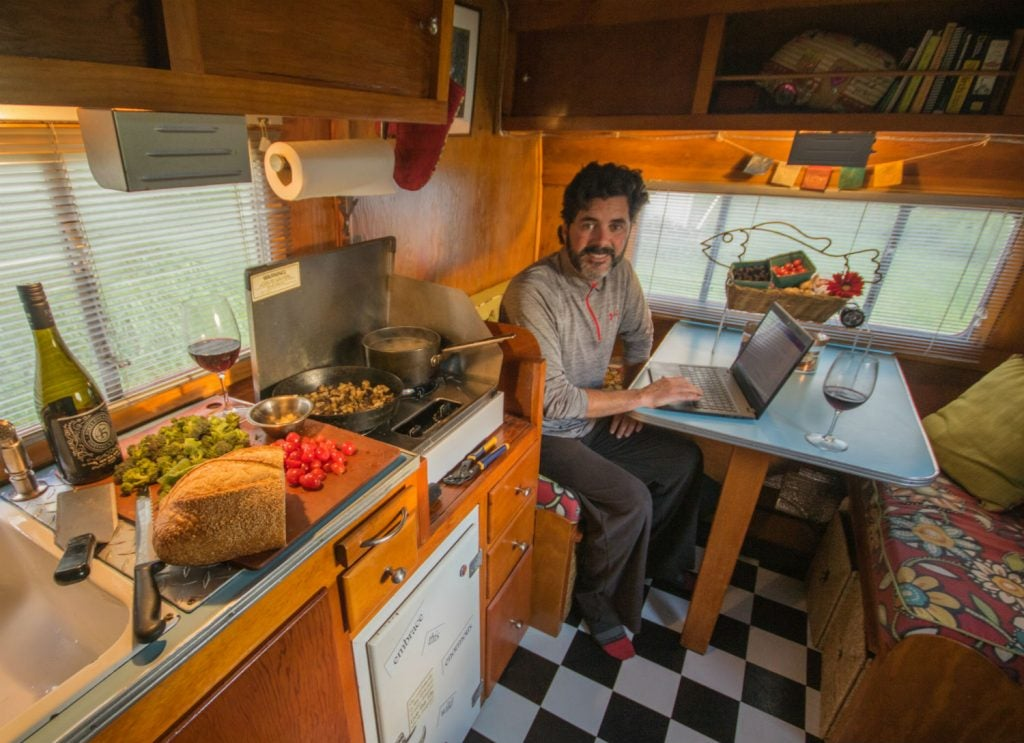 work on the road in your RV