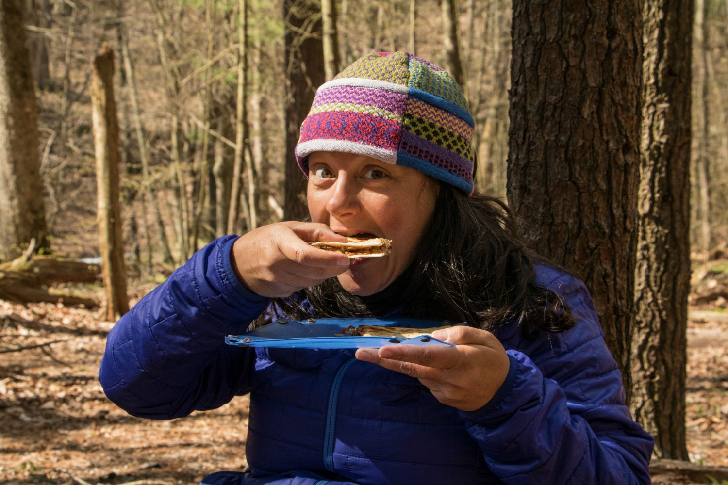 camp cooking in shenandoah national park