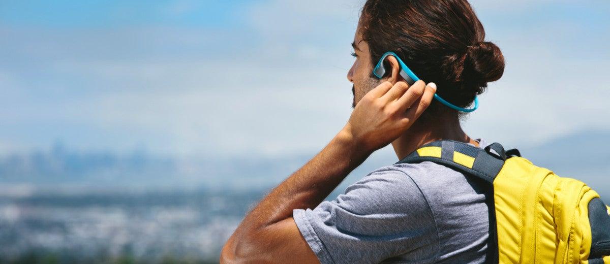 aftershokz bone conduction headphones