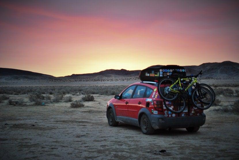 free camping desert