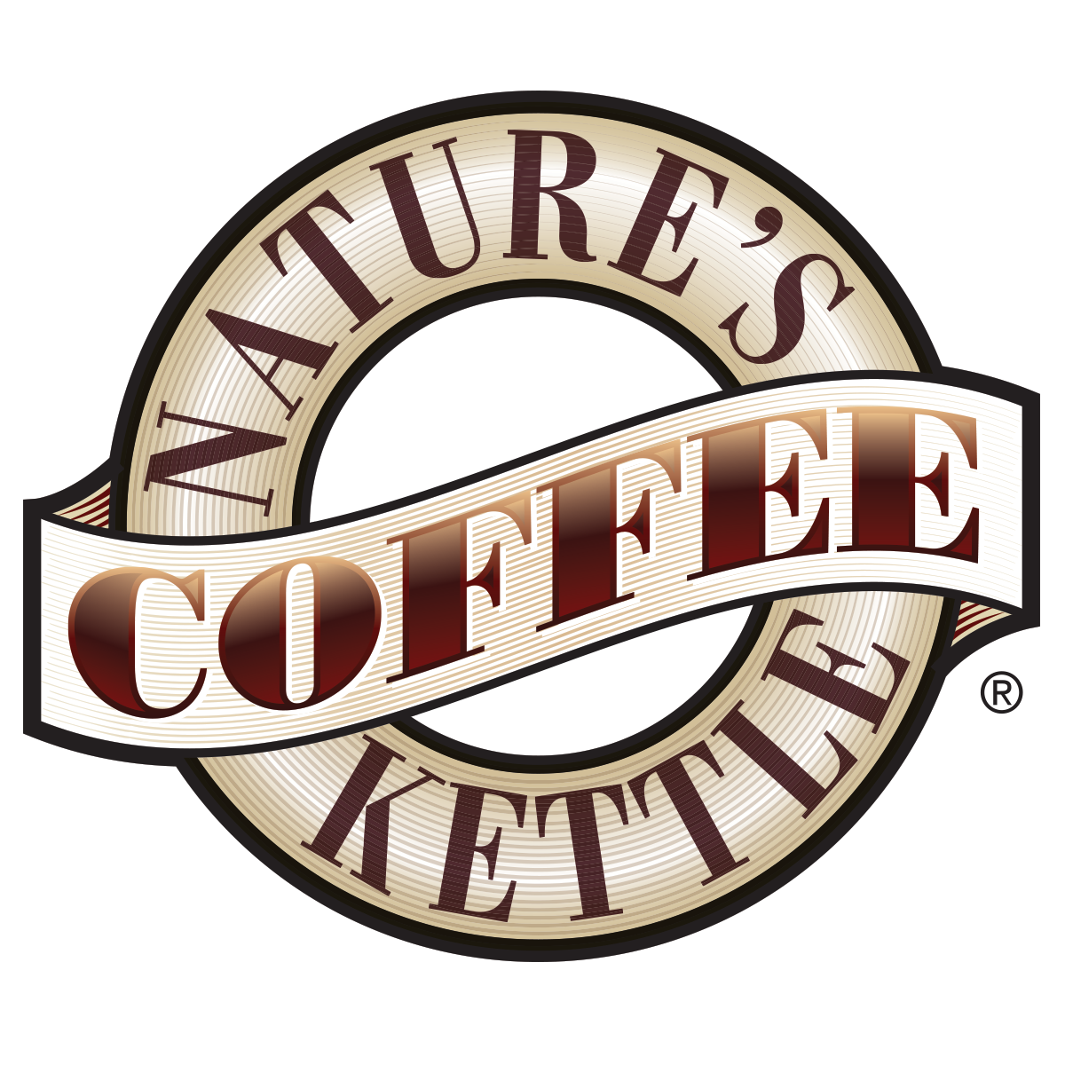 natures coffee kettle logo