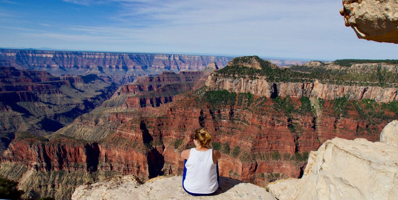 Grand Canyon Camper on Hike