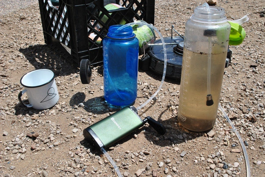 renogy water filter for kayak camping
