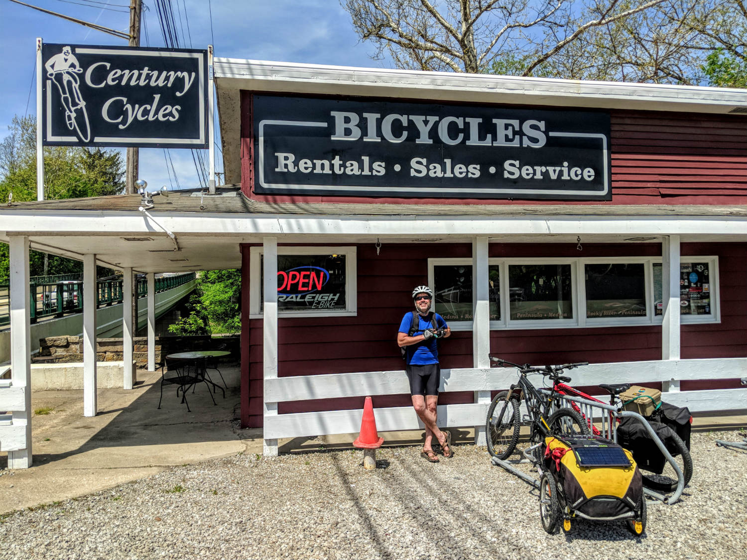 century cycles in the cuyahoga valley