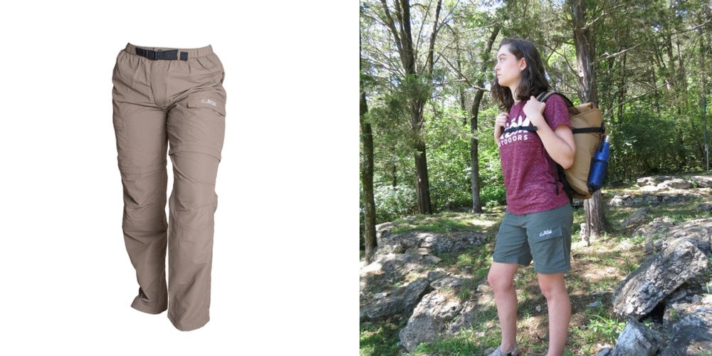backcountry camping gear list: hiking pants