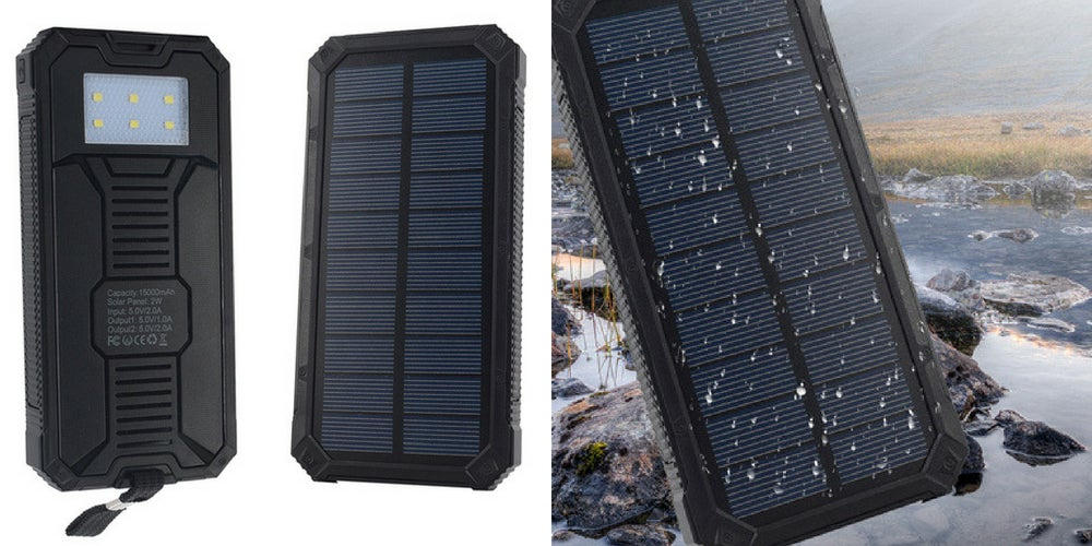 car camping gear list: renogy solar panels