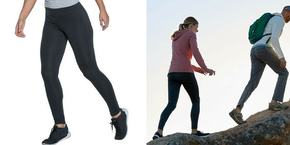 active camping gear list: trail tights
