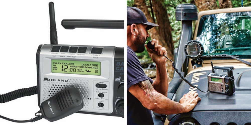 rv camping gear list: midland radio