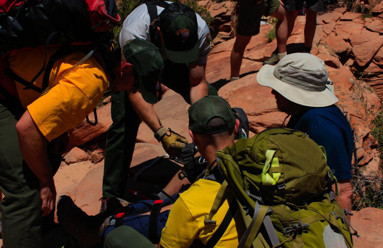 safety tips for angels landing rescue