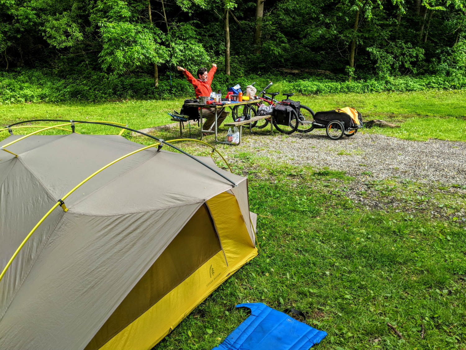camping in the Cuyahoga Valley