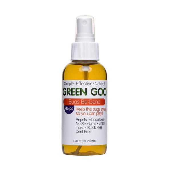 camping gear list: green goo