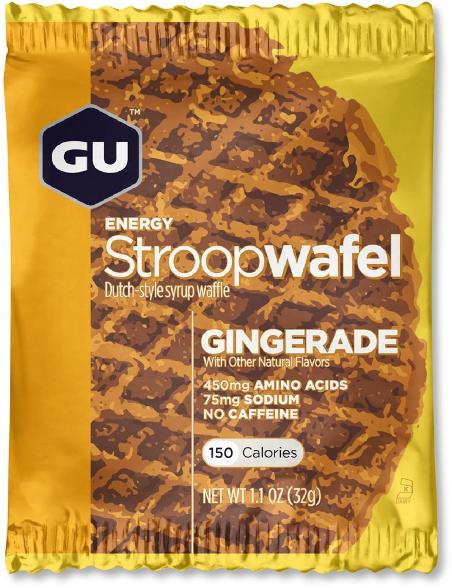 active camping gear list: gu stroop wafel