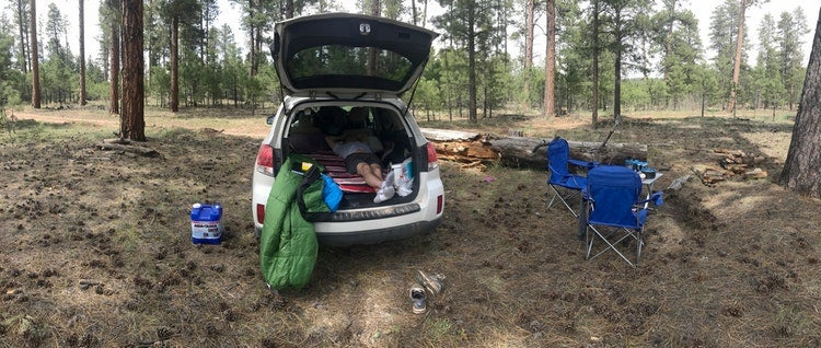 arizona budget camping