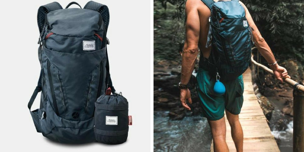 camping gear list: matador beast backpack