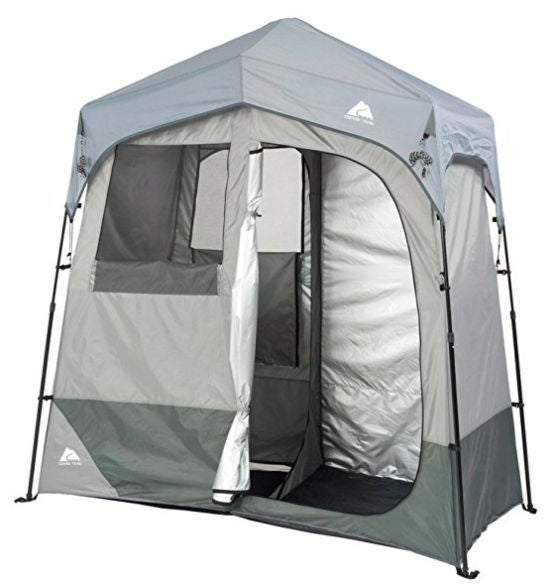 car camping gear list: shower tent