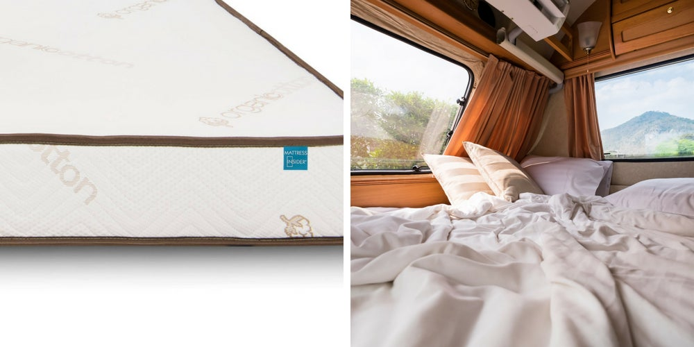 rv camping gear list: mattress insider