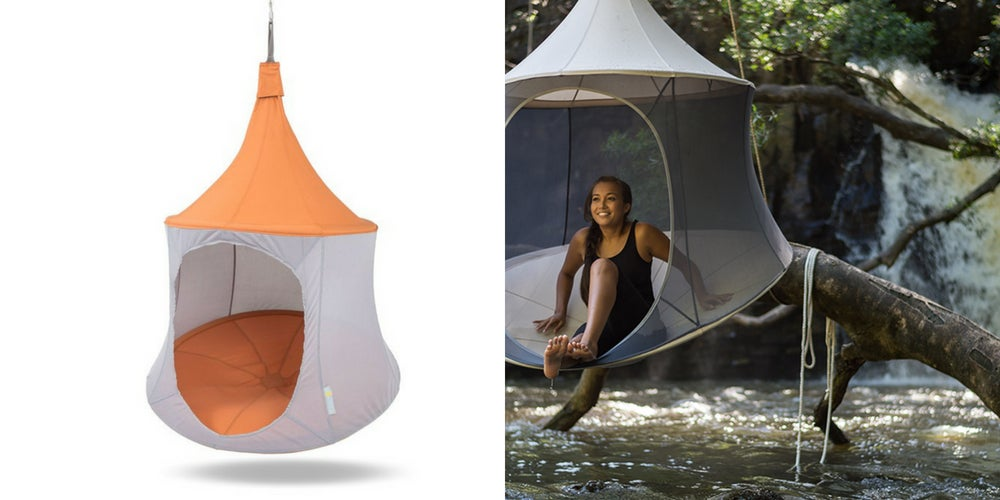 car camping gear list: treepod cabana