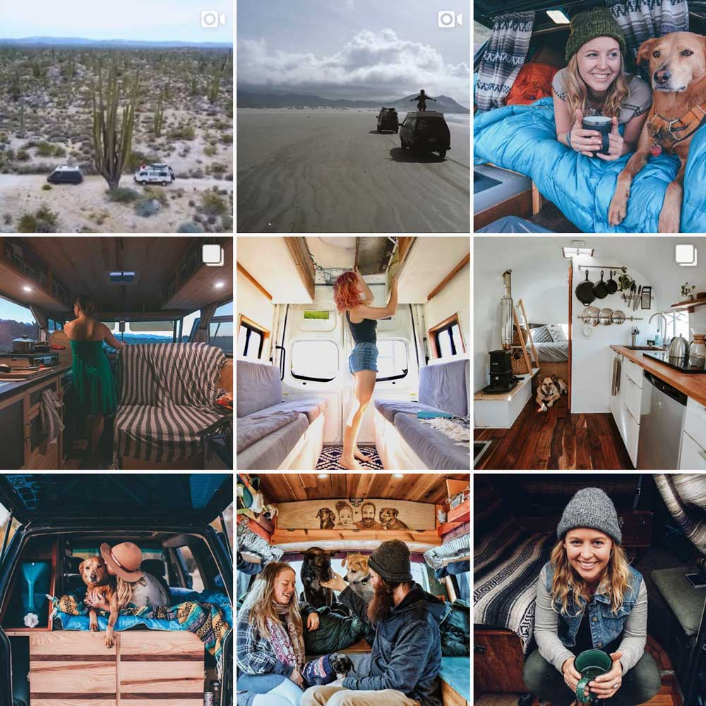 instagram influencers: tiny house tiny footprint