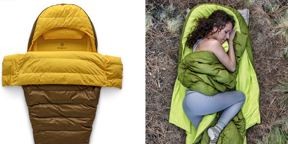 camping gear list: zenbivy sleeping bag
