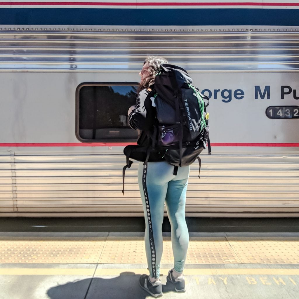 Chemult, Oregon Amtrak Station