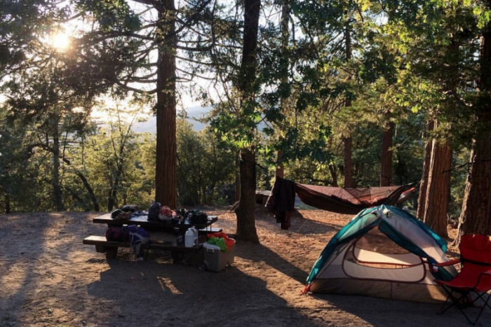 Idyllwild camping