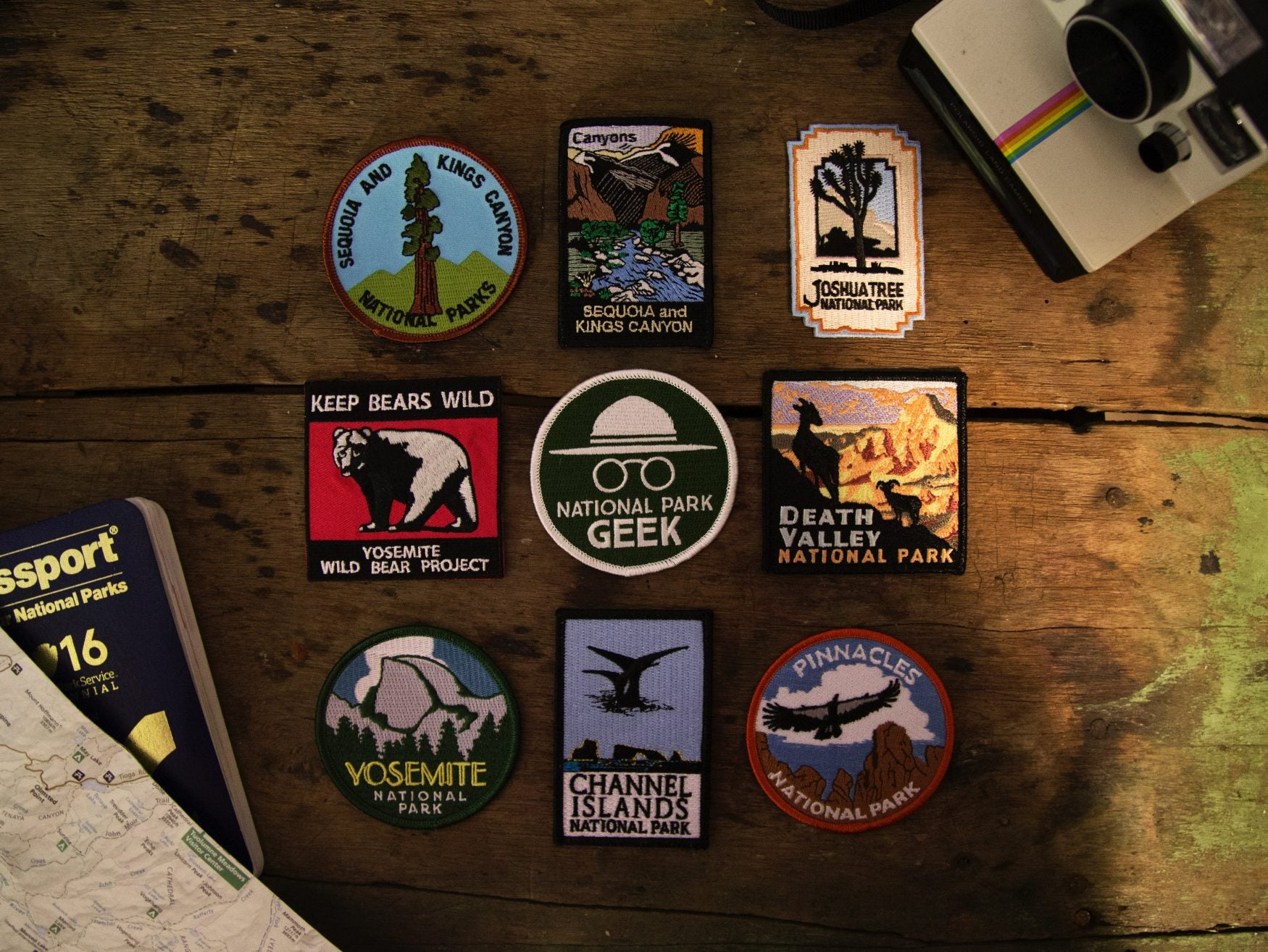 national park patches collection