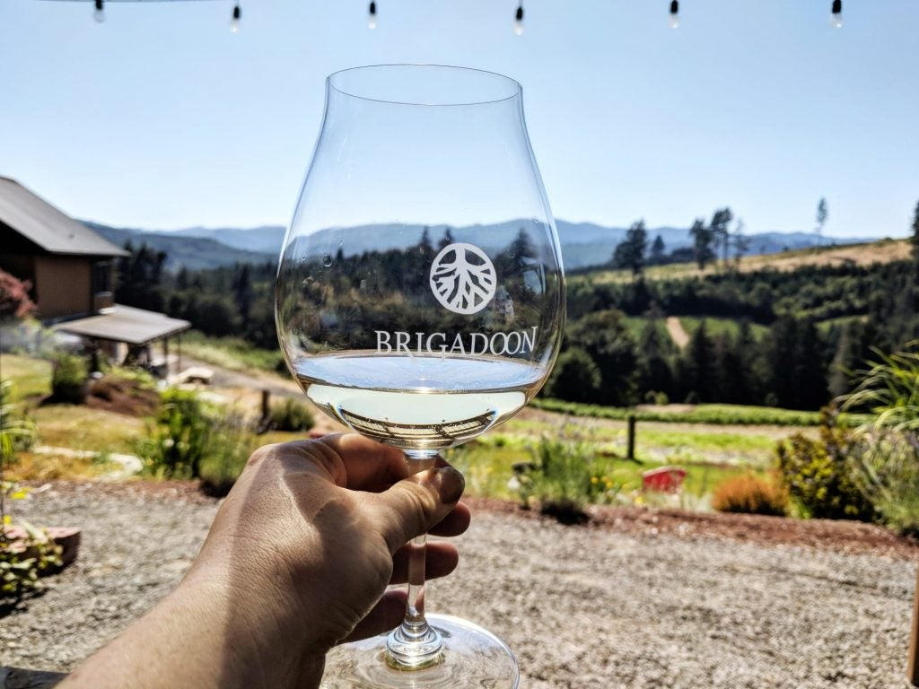 brigadoon winery willamette valley wine tours