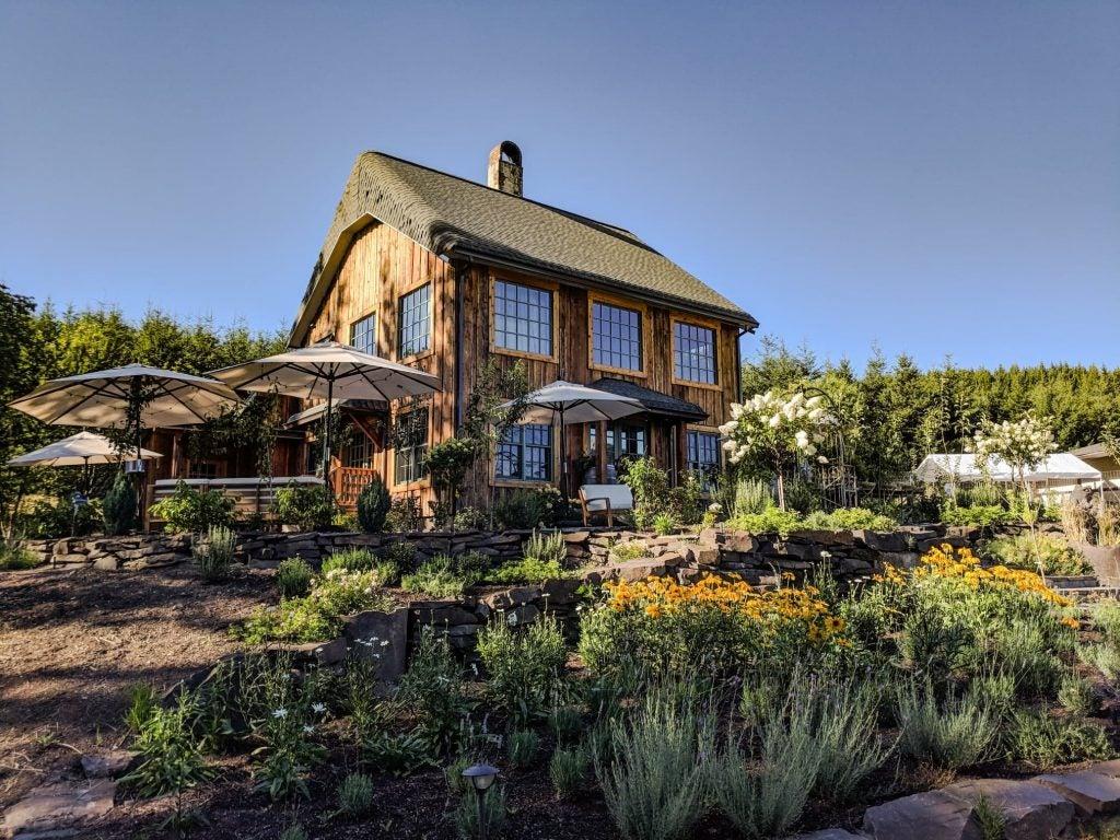 antiquum farm winery Willamette valley