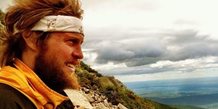 thru hiking the Appalachian trail