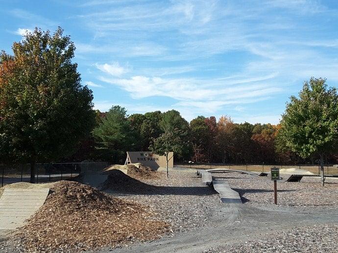 bike park at normandy farms