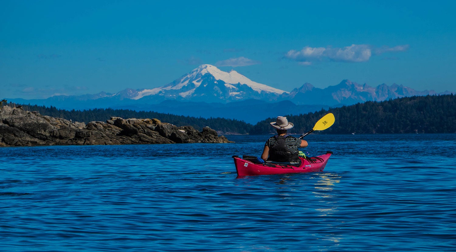 sea kayak camping in the san juan islands