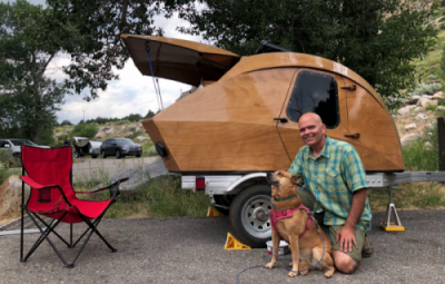 What it's Really Like to Build Your Own Teardrop Camper