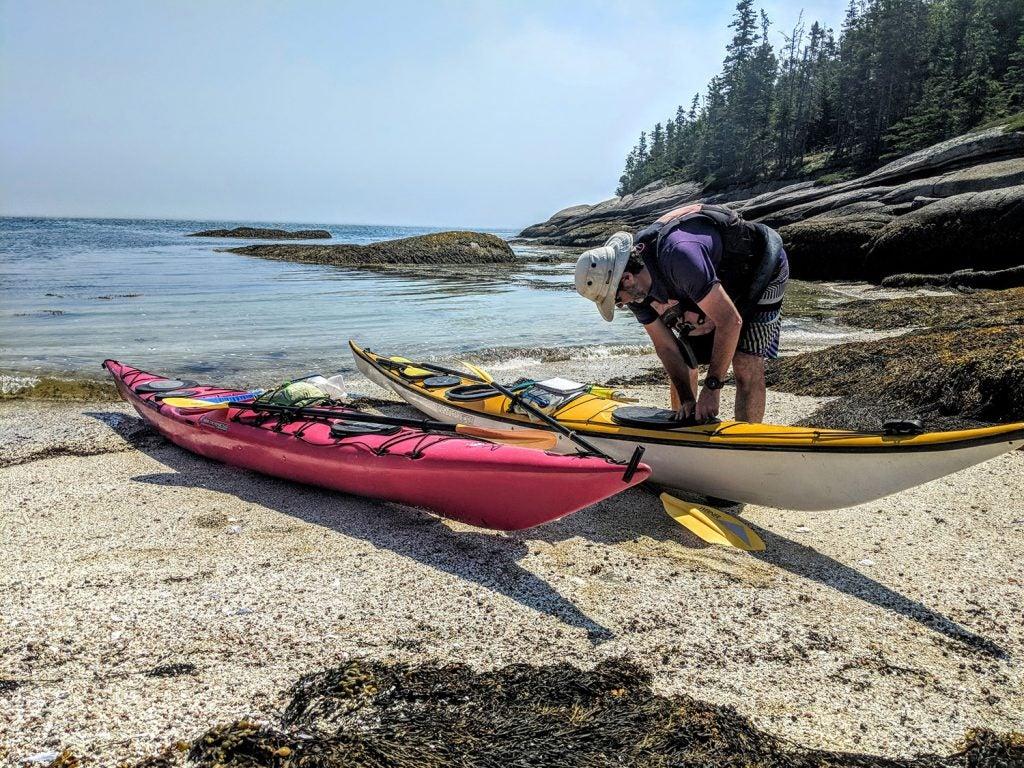 sea kayak in maine