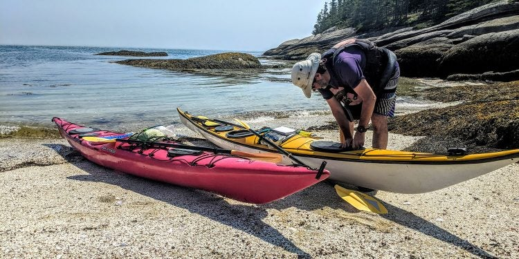 sea kayak in maine