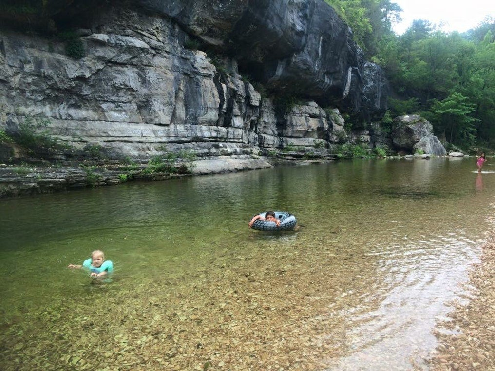 gunner pool in the ozark national forest