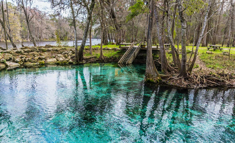blue swimming holes